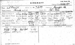 AMF78 - Lerwick L7248 - L7268 - 21 Aircraft-5